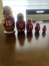 Russian Stacking Nesting Dolls Matryoshka Fsu Florida State Seminoles Noles Acc