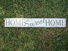 Home sweet home wood sign . Handmade farmhouse decor. rustic wood sign.