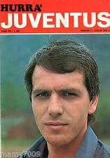 HURRA JUVENTUS=N°7 1976=BETTEGA COVER=PELE=ALTAFINI