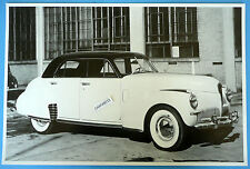 "1941 Studebaker Skyway Land Cruiser 4 Door 12 X18"" Black & White Picture"