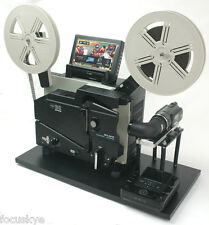 ELMO 16mm Movie Projector Unit Telecine Video Transfer  Built-In NTSC-HD Camera