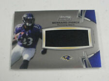 2012 Bowman Sterling RC JERSEY BERNARD PIERCE Ravens/Temple Rookie Relic