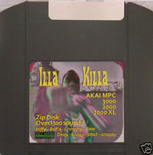 Akai mpc 3000 LE 2000 XL zip disk vol. 3 iLLa KiLLa rap