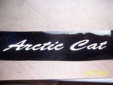 Vintage Arctic Cat Replacement Hood Sticker (New Vinyl)