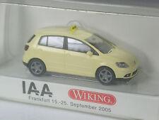 TOP: Wiking Sondermodell VW Golf Plus Taxi IAA Frankfurt 2005 in OVP