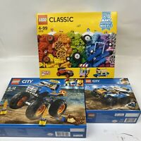 Lego 60180 10715 60218 Super Pack 3 in 1 Includes - Great Value.
