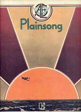 PLAINSONG in search of Amelia Earhart US EX LP GATEFOLDSLEEVE 1972