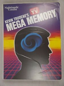 Kevin Trudeau's Mega Memory 8 Cassette Course Set Nightingale Conant Self Help