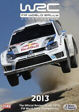 World Rally Championship - Official review 2013 (New 2 DVD set) WRC Rallying