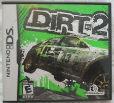 Nintendo DS Dirt 2 (Manual, box and game)