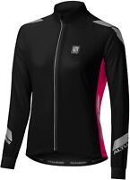 Altura Night Vision Commuter Womens Long Sleeve Cycling Jersey - Black