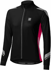 Altura Raspberry Pink-black 2016 Night Vision Commuter Womens Long Sleeved MTB J UK 10