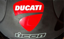 Ducati moto sticker for helmet  fairing tank decal motorcycle shoel arai