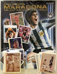Maradona Full Album - El mejor jugador del siglo - Original Complete unstick new