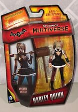 DC Comics Multiverse Arkham Knight Harley Quinn action figure New Mattel 3""