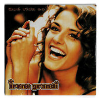 IRENE GRANDI. QUE VIDA ES. CDs PROMO SIGILLATO Cartonato 2Tr. Germany
