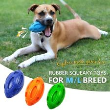 Indestructible Pet Toy Chew Bite Ball Rubber with Squeaker Dog Toy Durable