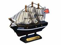 "Hampton Nautical Cutty Sark Model Clipper Ship, 4"", Wooden"