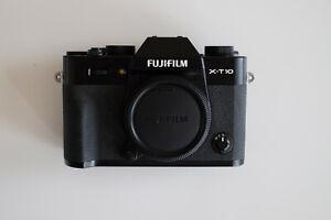 Fujifilm X-T10 , spiegellose Systemkamera in gutem Zustand