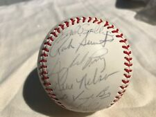 1983 SEATTLE MARINERS GAYLORD PERRY team autographed baseball 31 signatures