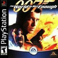 007 The World Is Not Enough Playstation Game PS1 Used Complete
