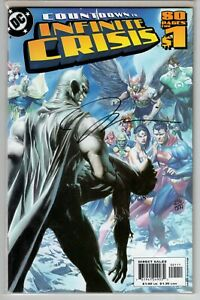 COUNTDOWN TO INFINITE CRISIS #1 DYNAMIC FORCES SIGNED BY JIM LEE NM COA #436/999