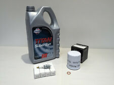 MG Rover K Series 5w40 Fuchs SuperSyn Oil Filter Spark Plug Service Kit