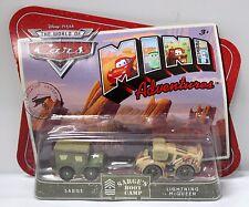 Sarge & Lightning Mcqueen Disney Pixar Cars Sarge's Boot Camp Mini Adventure New