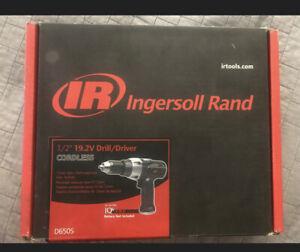 "Ingersoll Rand Drill/Driver 1/2"" 19.2V Cordless"
