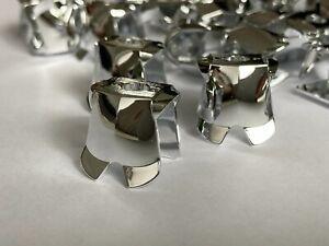 Lego Armor Breastplate silver chrome castle minifigs (Lego Custom)