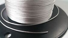 5 FEET Braided silver wire loom sleeve sheathing cover sharp 1/16 EXPANDABLE