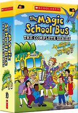 The Magic School Bus: The Complete Series (DVD, 2012, 8-Disc Box Set) New F&S