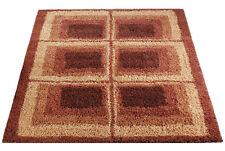 Mid Century Danish Modern Rya Style Shag Rug / Carpet Vintage Knoll Style (8X10)