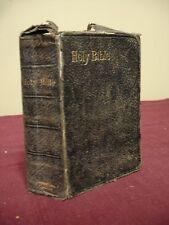 Bible KJV - 1892 - Lithograph Inscription of Bishop William Taylor