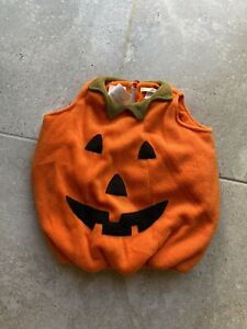 Pottery Barn Kids Pumpkin Costume Size 6-12 Months Unisex