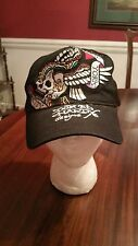 Don Ed Hardy Designs New York Ball Cap in Black One Size New