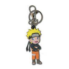 Naruto Shippuden Chibi Sd Naruto Leaf Village Pvc Key Chain Licensed Official