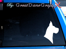 Great Dane #2 -Vinyl Decal Sticker -Color Choice -High Quality