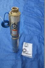 New Submersible Deep Well water Pump 3/4 0.75 HP Bore  220V