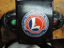 Lionel Train Multi-Control Trainmaster Type ZW 275 Watt Transformer