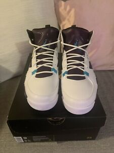 NEW W/Box Jordan FLTCLB '91 Flight Club Men's 9 White/Blue/Purple 555475 105