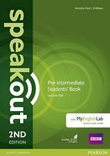 Speakout Pre-Intermediate Students' Book with DVD-ROM and MyEnglishLab Access Co