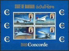 Bahrain 1976 ** Bl.1  Flugzeuge Airplane Concorde