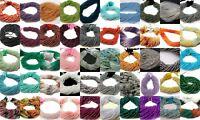"""1-5 Strand Natural Rondelle Faceted 3-4.5mm Gemstone Beads 13""""Inch Ebay Sale"""