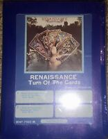 NEW SEALED RENAISSANCE TURN OF THE CARDS 8-TRACK TAPE UNOPENED SUPER RARE LOOK