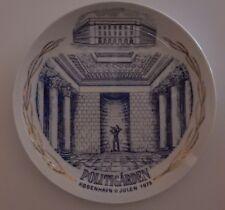 Ege Porcelain Political Garden Plate Denmark 1979