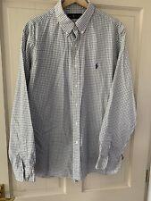 """Ralph Lauren Mens Shirt 17"""" Collar"""