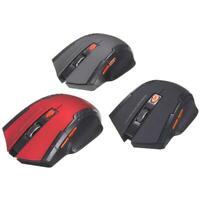 2.4GHz Wireless 2400DPI 6 Buttons USB Optical Gaming Mouse for PC Laptop UK