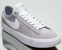 Nike SB Zoom Blazer Low Pro GT Men's Grey White Lifestyle Skate Sneakers Shoes