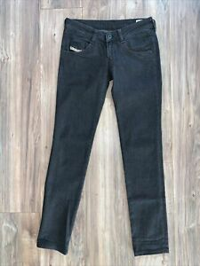 Diesel CLUSH Stretch Jeans, Women's 29x32, Black